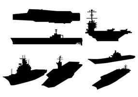Flugzeugträgervektor vektor