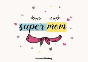Super Mom Vektor