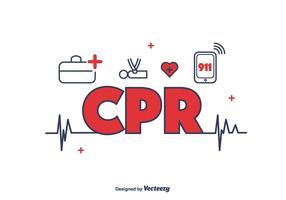 CPR Icons Vektor