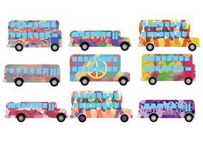 Hippe Bus Vektoren