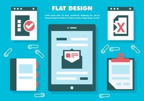 Kostenlose Web-Elemente Vektor Hintergrund