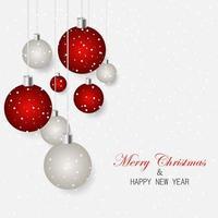 Frohe Weihnachten Schriftzug vektor