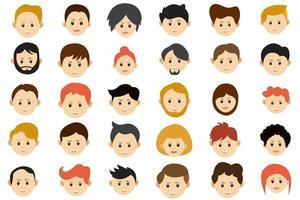 samling av avatar
