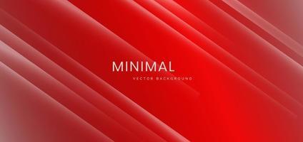 minimalistisk röd och vit lutningsbakgrund