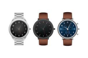 klassische Armbanduhr isoliert