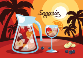Sangria, traditionell spanskdryck