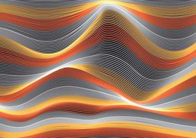 fließende Linien winken vektor