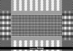 Vektor Keffiyeh Vektor-Muster