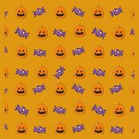 Halloween Jack-o-Laterne Muster
