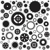 kugghjulsmekanism vektor
