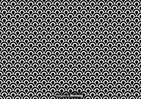 Vector Nahtlose Muster Von Fisch Skalen