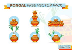 Pongal fri vektor pack