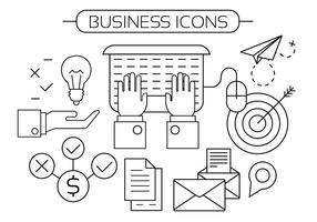 Kostenlose Business Icons vektor
