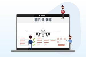 boka ditt flyg online