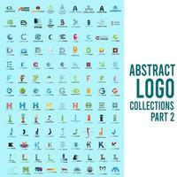 abstrakte Logo-Sammlungen Teil 2 vektor