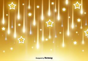 Vektor Fallande Stjärnor Och Kometer Bakgrund