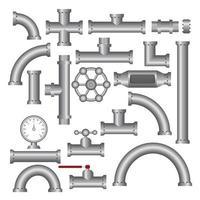 Stahlrohrverschraubungen vektor