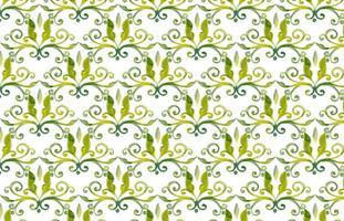 Olive Green Vector Akvarell kunglig bakgrund