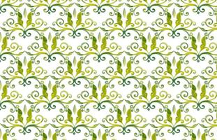 Olive Green Vector Aquarell Royal Hintergrund
