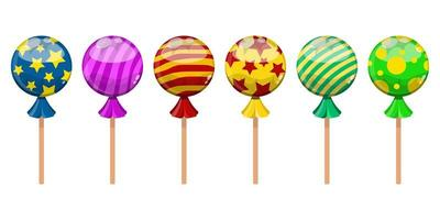 Süßigkeiten süß isoliert vektor