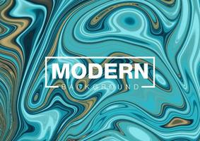 modern blandad flytande färgbakgrund vektor