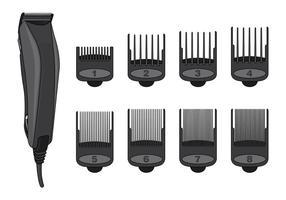 Vektor von Haarschneidemaschinen