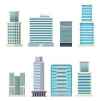 skyskrapa stadsbyggnader