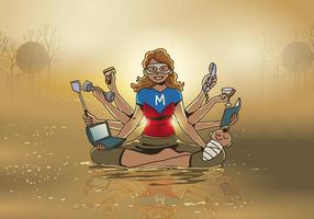 Super Mama retten den Tag
