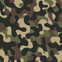 militärischer Tarnmusterhintergrund vektor