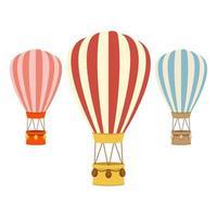 Heißluftballon vektor