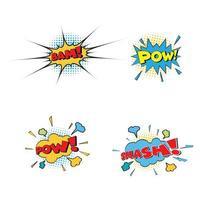 komisk text popkonst stil världen