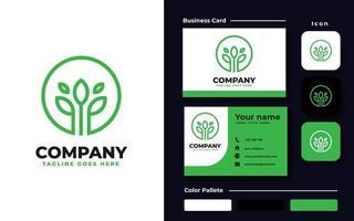 gesundes Design Branding Set vektor