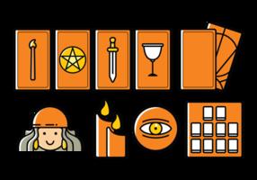 Vektor Tarot Icons