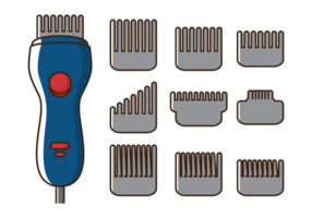 Vektor hårklippare maskin