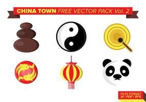 China town kostenlos vektor pack vol. 2