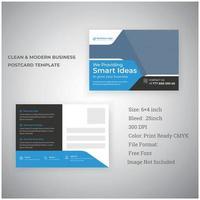 professionelles Postkarten-Design für Unternehmensförderung