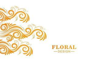 dekorativ färgstark blommig bakgrund vektor
