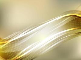 Goldgradientenhintergrund vektor