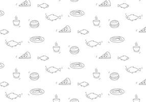 Mat vektor mönster