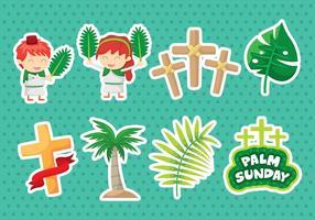 Palm söndag ikoner