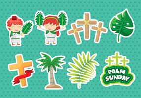 Palm Sonntag Icons