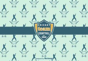 Free Cricket Vektor Hintergrund