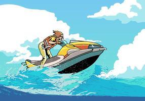 Jet ski extrem sport