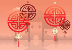 China Stadt Illustration