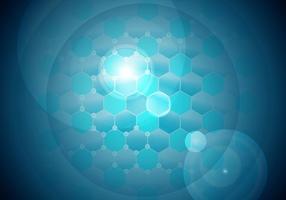 Nanoteknik Bakgrund Vector Gratis # 2