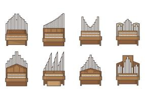 Free Pipe Orgel Vektoren