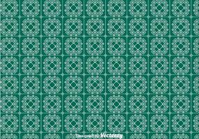 Grünes Keffiyeh-Muster