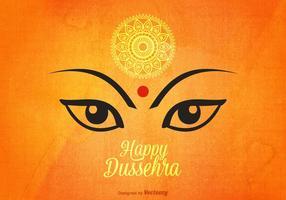 Gratis Glad Dussehra Vector Bakgrund