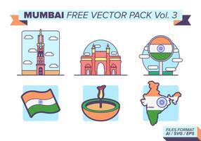 Mumbai gratis vektor pack vol. 3