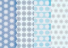 Vektor Schneeflocken Muster